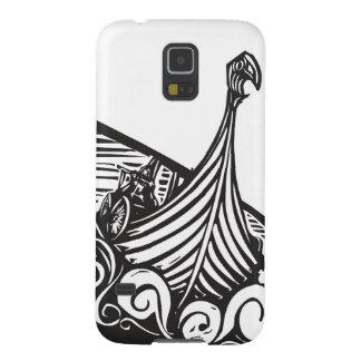 バイキングのLongshipの航行 Galaxy S5 ケース