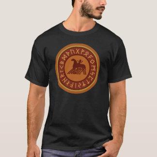 バイキングのRunesのSleipnir Odinの紋章 Tシャツ