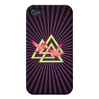 バイキングのSpeckの紫色の箱 iPhone 4/4S Cover