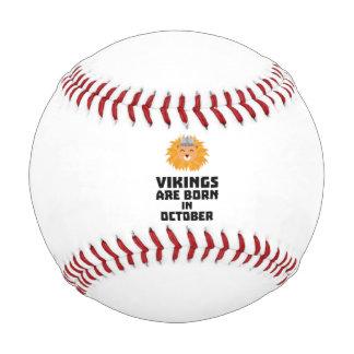 バイキングは10月Z0v8rに生まれます 野球ボール