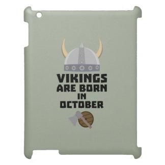 バイキングは10月Zv005に生まれます iPadケース