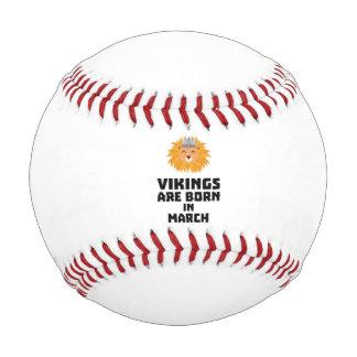バイキングは3月Zqjc0に生まれます 野球ボール