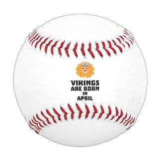 バイキングは4月Zxa47に生まれます 野球ボール