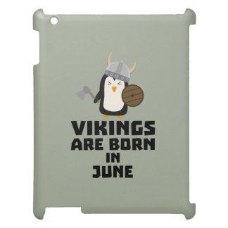 バイキングは6月Zj328に生まれます iPadケース