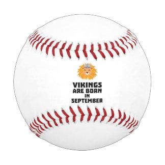 バイキングは9月Zoid8に生まれます 野球ボール