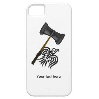 バイキング戦争のハンマーのトール iPhone SE/5/5s ケース