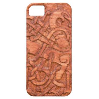バイキング木切り分けること iPhone SE/5/5s ケース