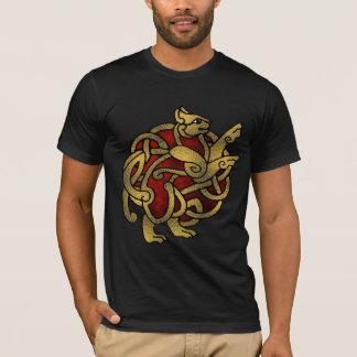 バイキング猫のワイシャツ Tシャツ