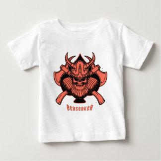 バイキングBerserker ベビーTシャツ
