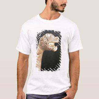 バイキングLongshipの頭首はOsebergで、見つけました、 Tシャツ