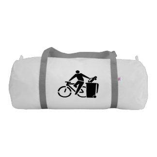 バイクにない車乗って下さい ジムバッグ