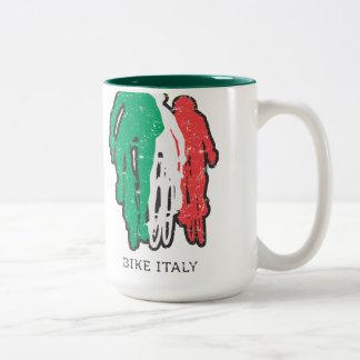 バイクのイタリアのマグ ツートーンマグカップ