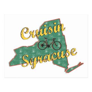 バイクのシラキュースの自転車ニューヨーク はがき