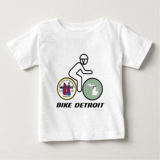 バイクのデトロイトベビー ベビーTシャツ