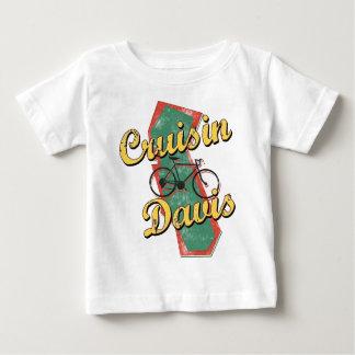 バイクのデービスの巡航カリフォルニア ベビーTシャツ