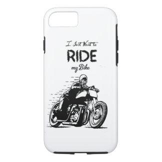 バイクのライダー iPhone 8/7ケース