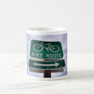 バイクのルートのマグ コーヒーマグカップ