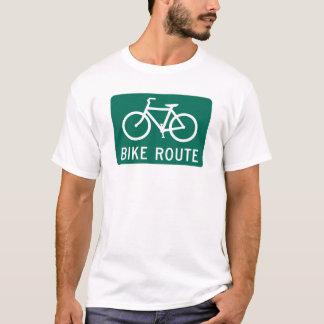 バイクのルート Tシャツ