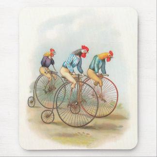 バイクのヴィンテージのオンドリ マウスパッド
