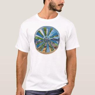 バイクの曼荼羅 Tシャツ