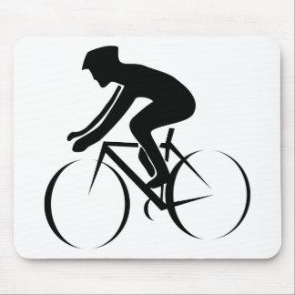 バイクの競争 マウスパッド