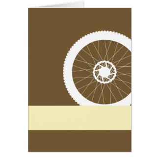 バイクの車輪 カード