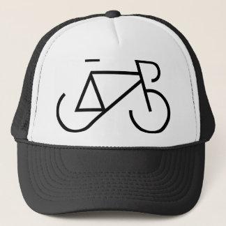 バイクの黒の競争 キャップ