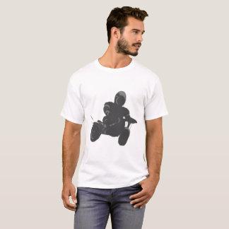バイクもしくは自転車に乗る人のTシャツ Tシャツ