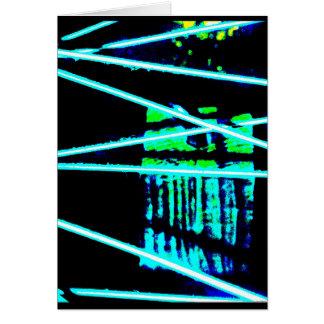 """""""バイク車輪3""""のJTGの芸術の挨拶状 カード"""