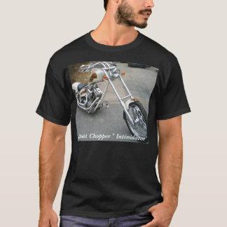 バイク1月26日の本当の火2007 033のデトロイトチョップ… Tシャツ
