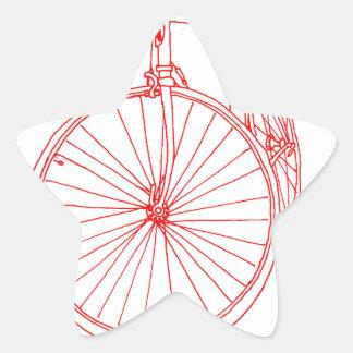 バイク 星シール