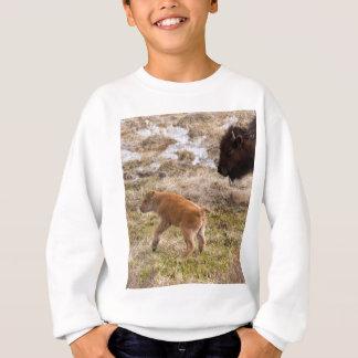 バイソンおよび子牛 スウェットシャツ