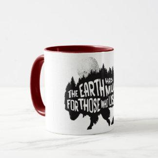 バイソンのコップ マグカップ