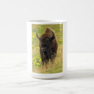 バイソンのマグ コーヒーマグカップ