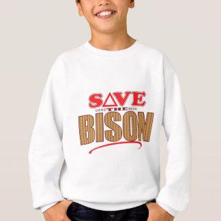 バイソンの保存 スウェットシャツ