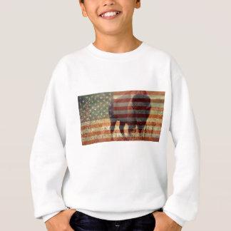 バイソンの旗 スウェットシャツ