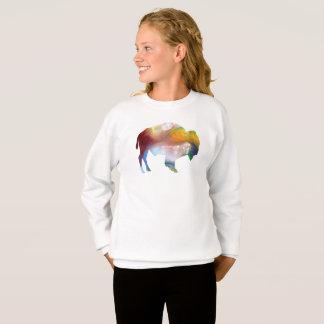 バイソンの芸術 スウェットシャツ