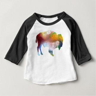 バイソンの芸術 ベビーTシャツ