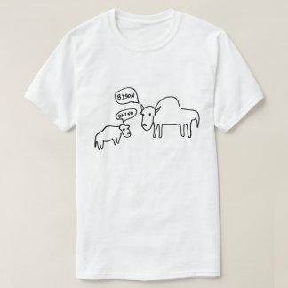 バイソンのTシャツライト Tシャツ