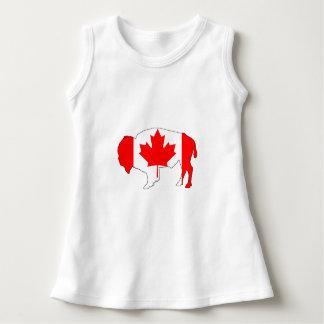 """バイソン""""カナダ"""" ドレス"""