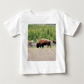 バイソン ベビーTシャツ