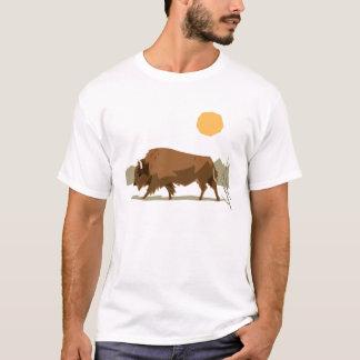 バイソン Tシャツ