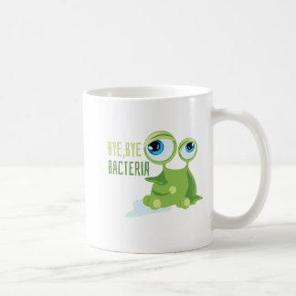 バイバイ細菌 コーヒーマグカップ