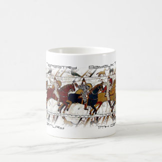 バイユーのタペストリー場面マグ コーヒーマグカップ