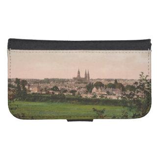 バイユー都市眺め、バスーノルマンディー、フランス ウォレットケース