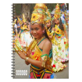 バギオのフェスティバル ノートブック