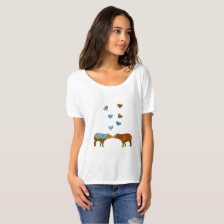 バクのカップル Tシャツ