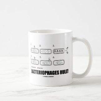 バクテリオファージの規則! (細菌のウイルスDNA) コーヒーマグカップ
