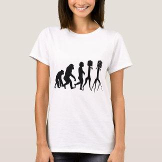 バクテリオファージの進化、 Tシャツ