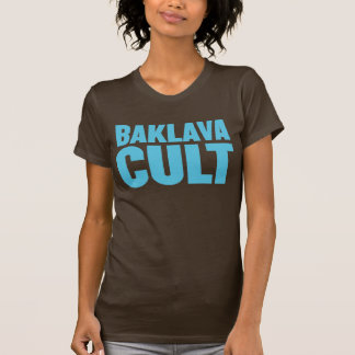 バクラヴァの嵩拝の*TURQUOISE PRINT* Tシャツ